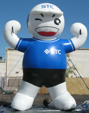 mascot inflatable for business